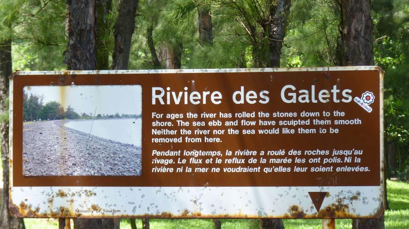Rivi re des galets mauritius l 39 le de france - Galet de riviere ...